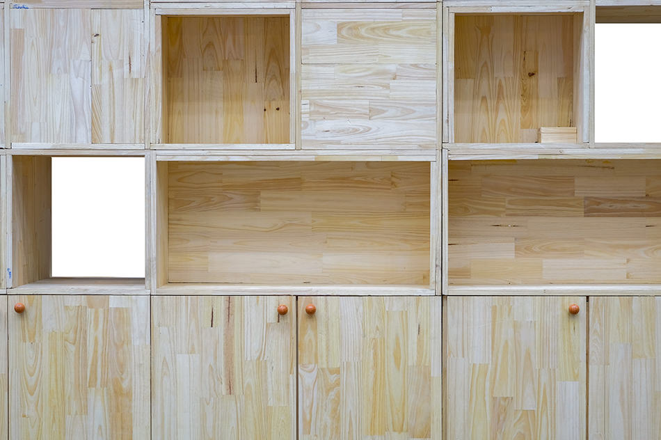 Kitchen Cabinet and Wooden Pallets