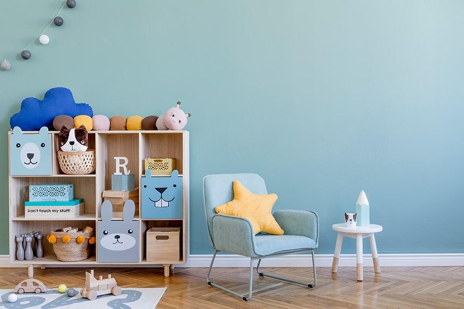 Shades of Blue Baby Boy Nursery