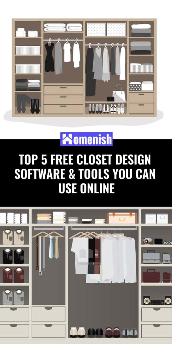 Top 5 Free Closet Design Software & Tools You Can Use Online