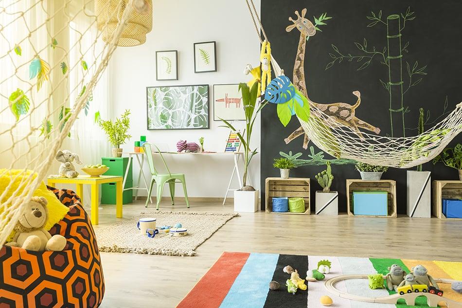 Tropical Baby Boy Nursery
