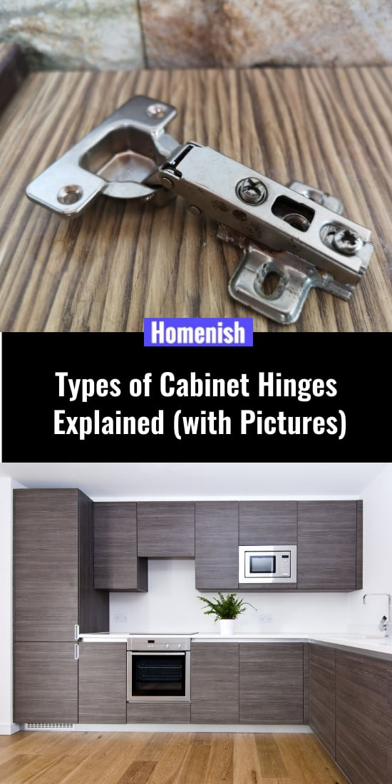 Types of Cabinet Hinges Explained (with Pictures)