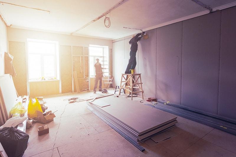 Purple Board Drywall