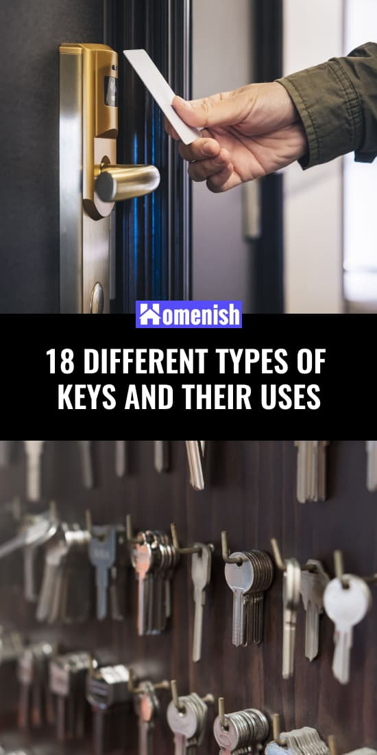 18 Different Types of Keys and Their Uses
