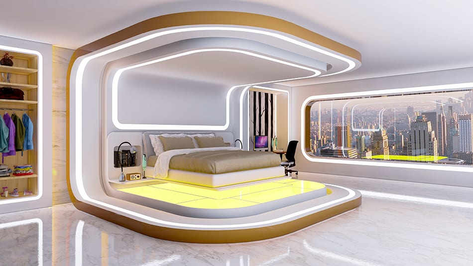 14 Futuristic Bedroom Ideas That Are Out Of This World Homenish