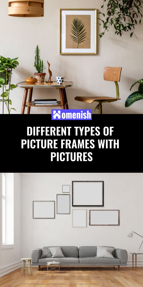 Different Types of Picture Frames with Pictures