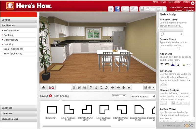 Home Hardware Kitchen Designer