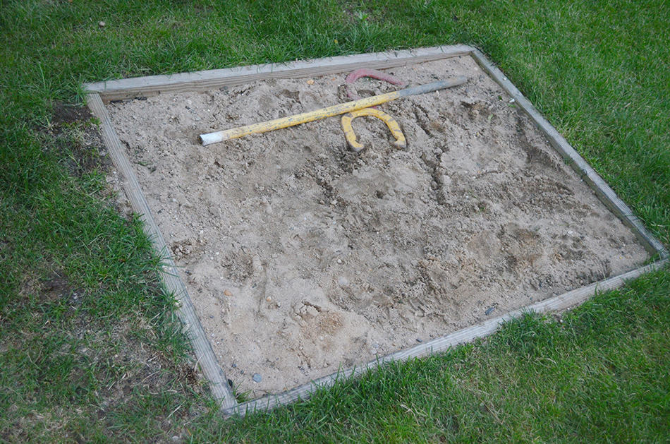 Horseshoe Pit Dimensions