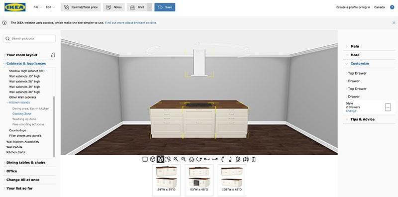 IKEA 3D Kitchen Planner