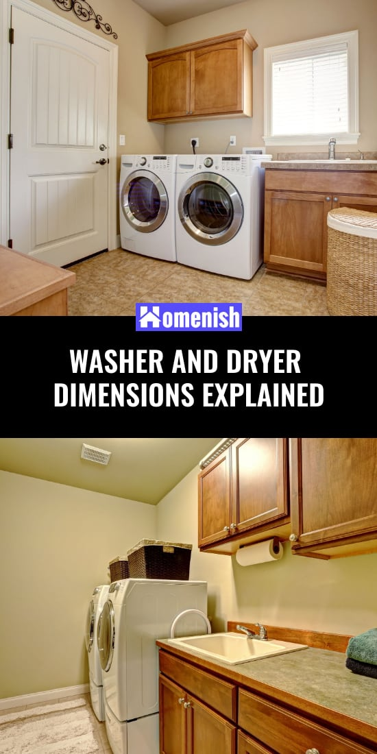 Washer and Dryer Dimensions Explained