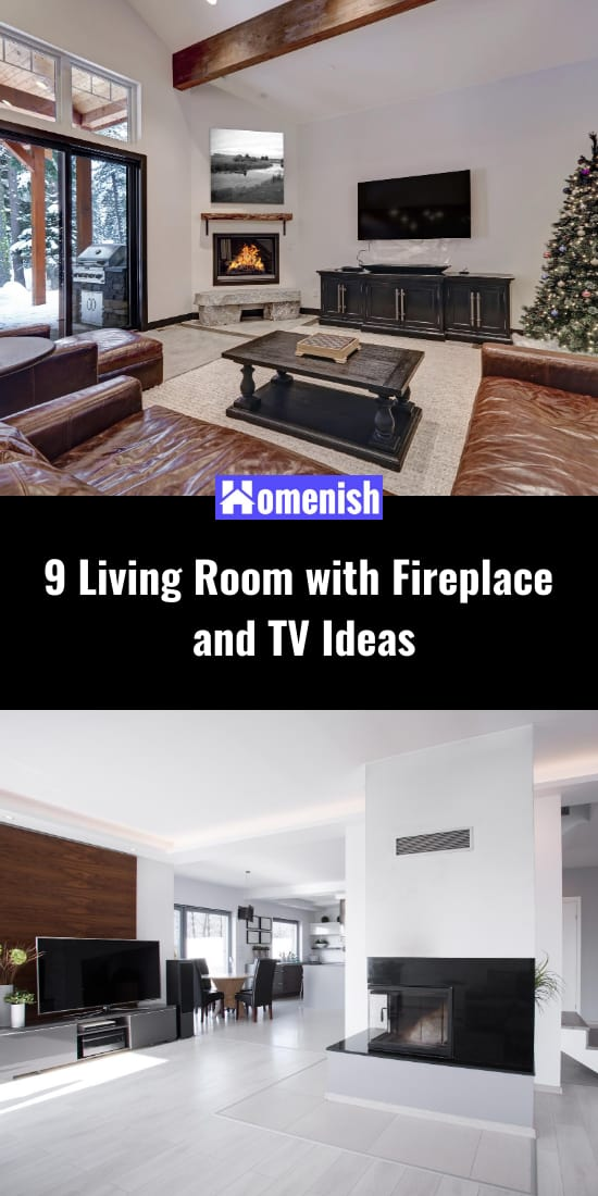 9 Living Room with Fireplace and TV Ideas