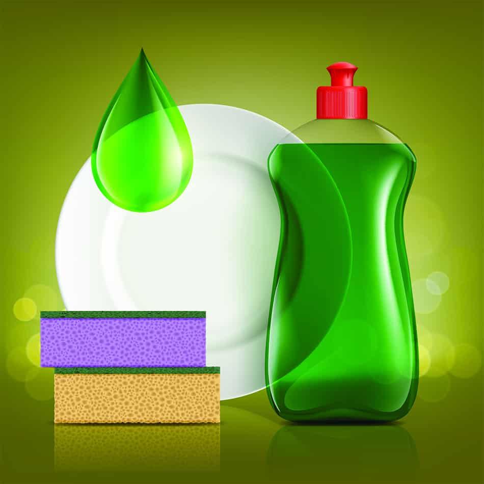Rinse with Dishwashing Liquid and Ammonia