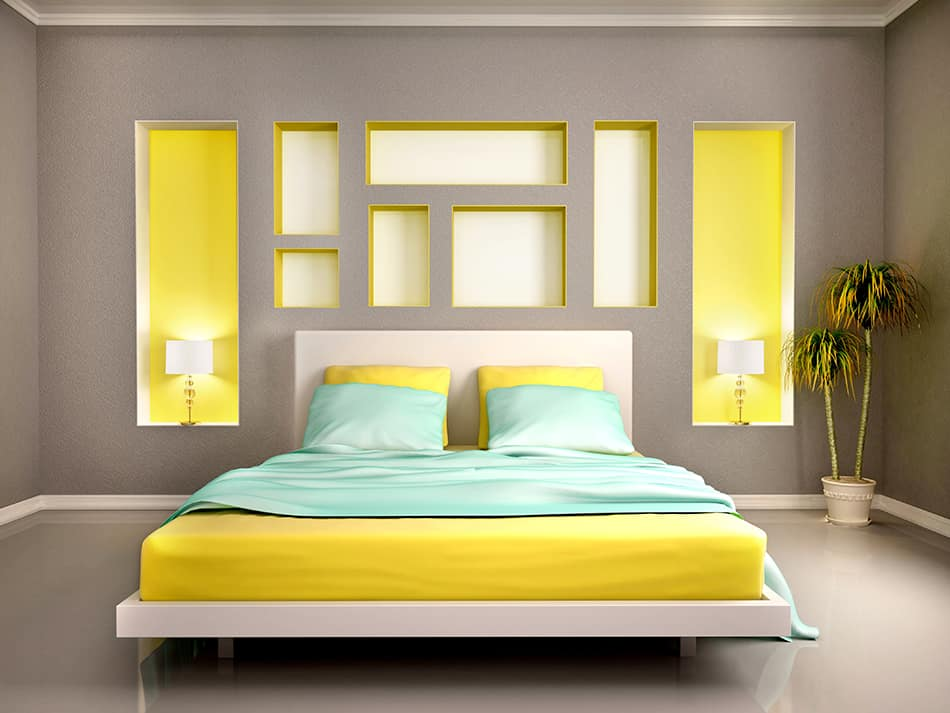 Embrace Modernism with Grey and Yellow