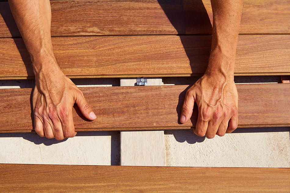 Installing Teak Flooring