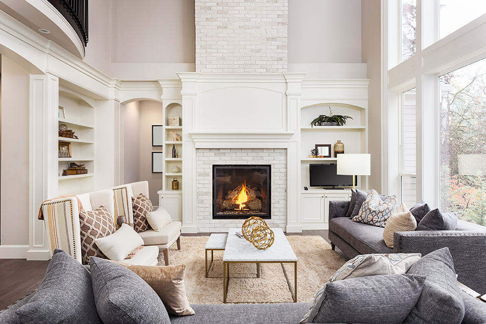 9 Living Room With Fireplace And Tv Ideas Homenish