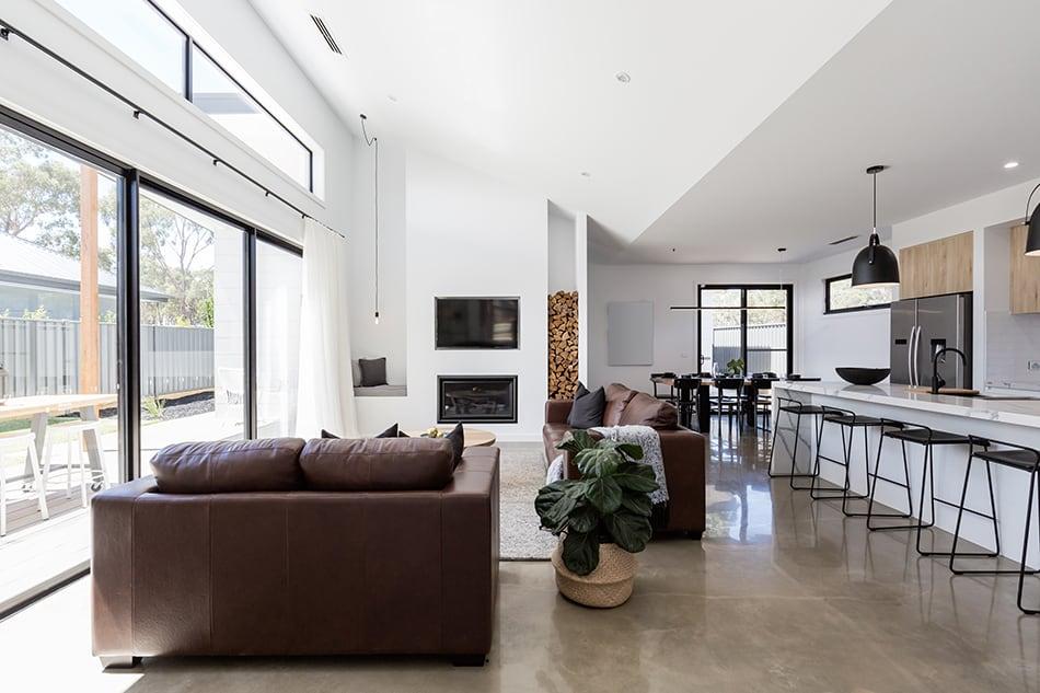 Open-Plan Living Rooms