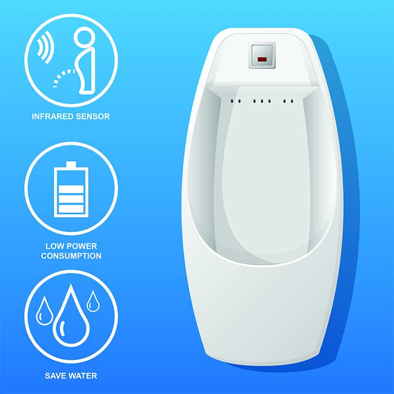 Touch-Free Flush
