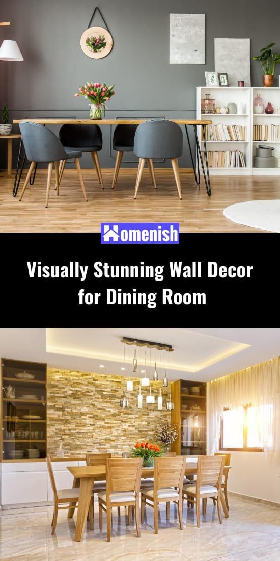 Visually Stunning Wall Decor for Dining Room