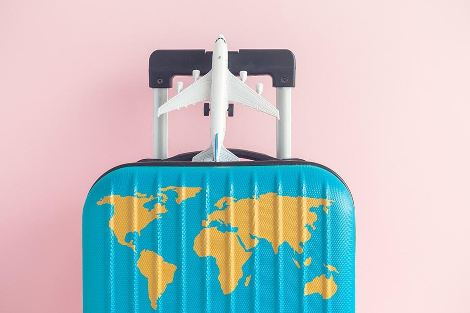 Decoupage your suitcase