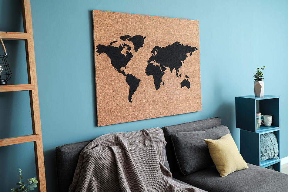 Go bold with a single map