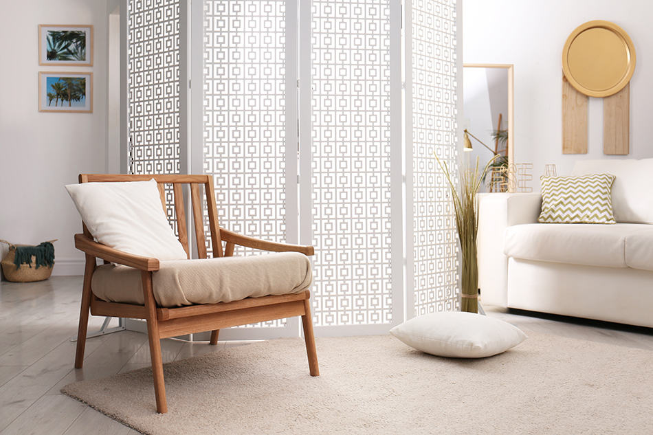 Consider a decorative room divider