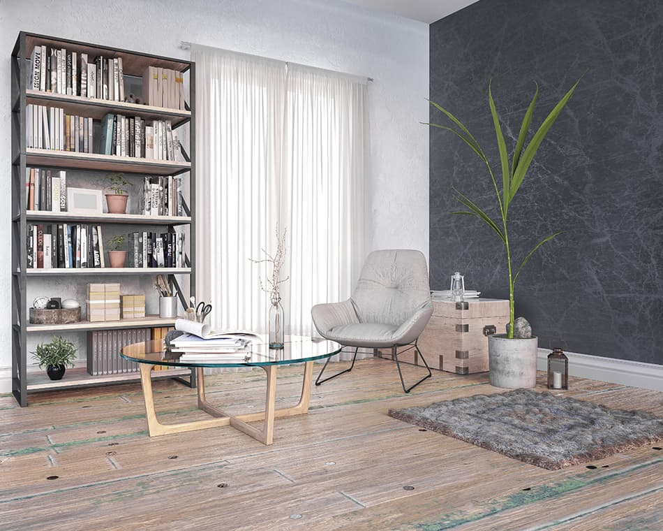 Create a reading corner or an alternative seating area