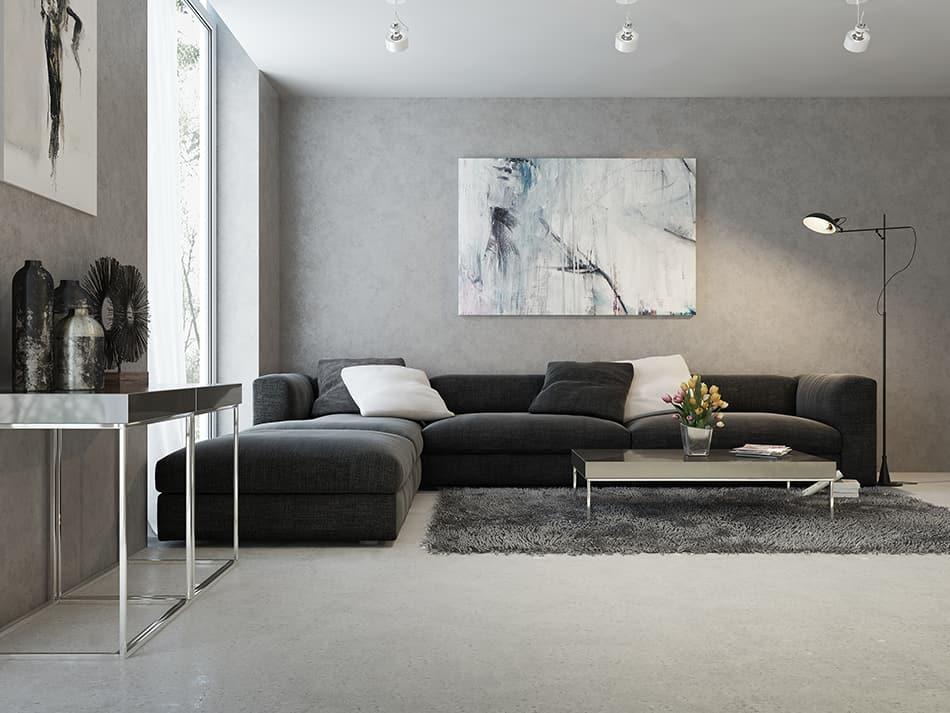 Fill corner walls with unique artwork