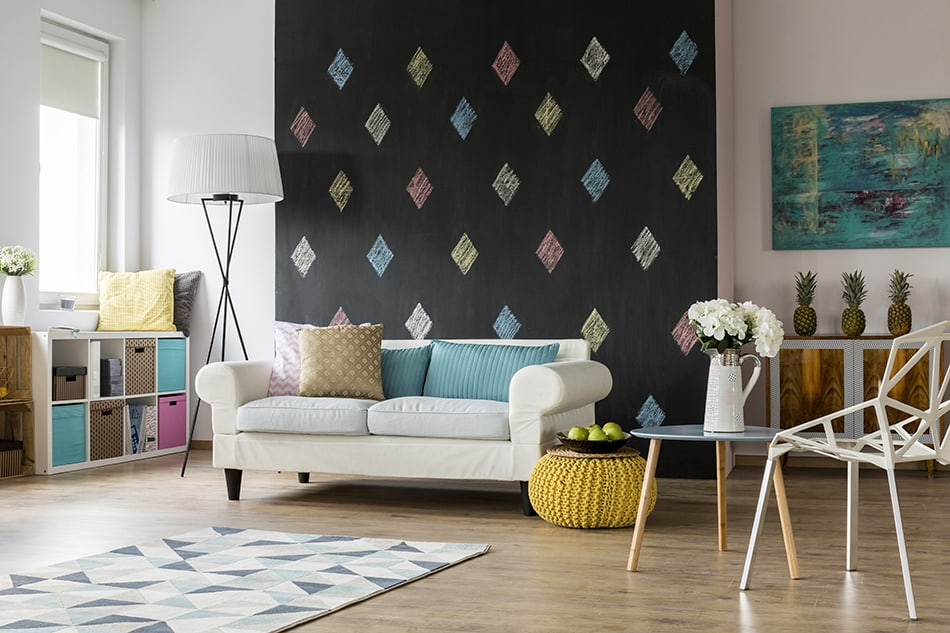 Accentuate One Single Wall
