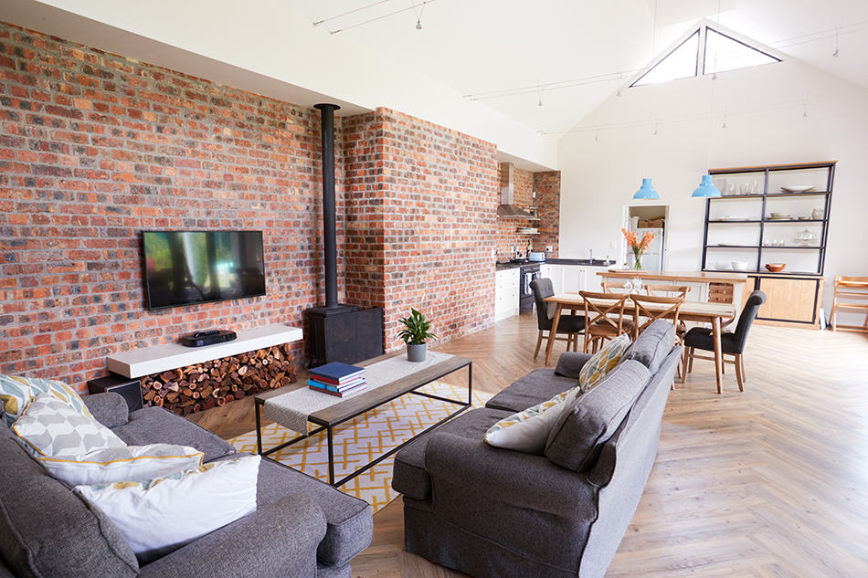 Focal Point In Open Plan Layout