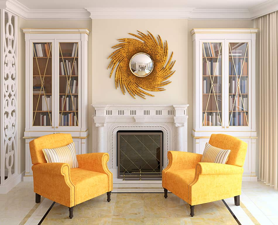 Focal Point in A Living Room