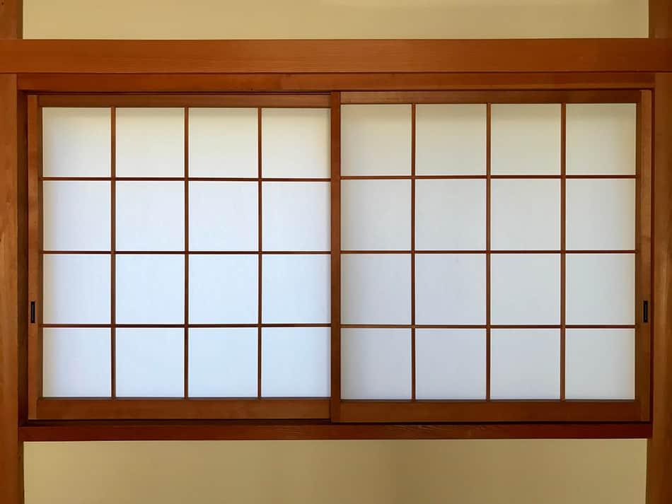 Shoji-style Window