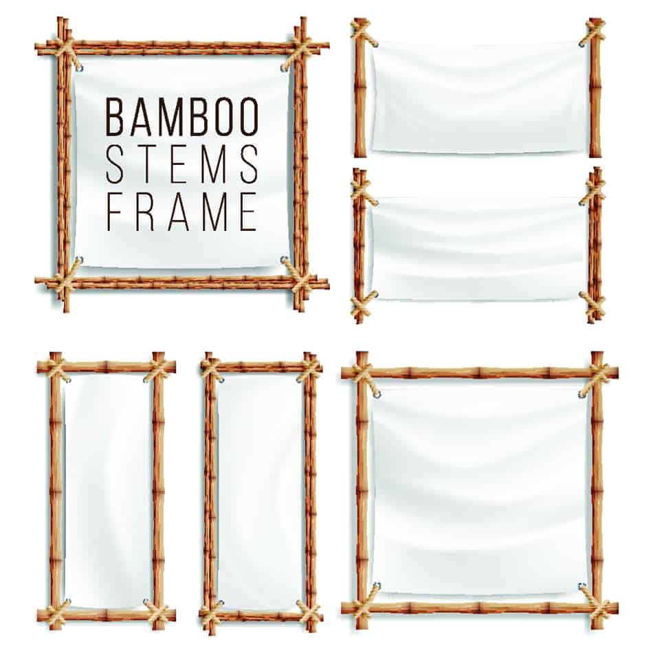 Bamboo Framed Prints