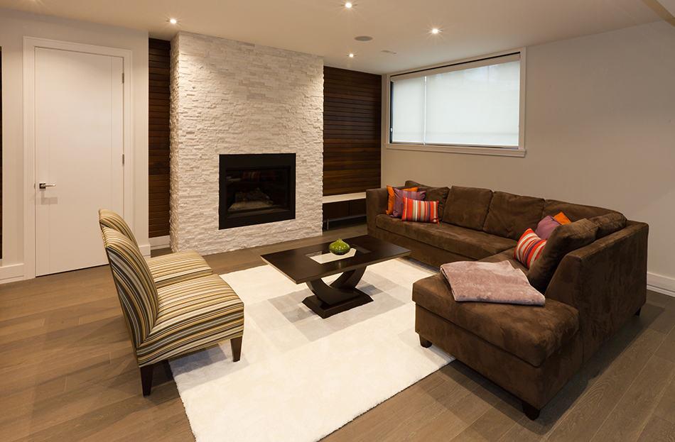 Combine Brown Walls With Beige