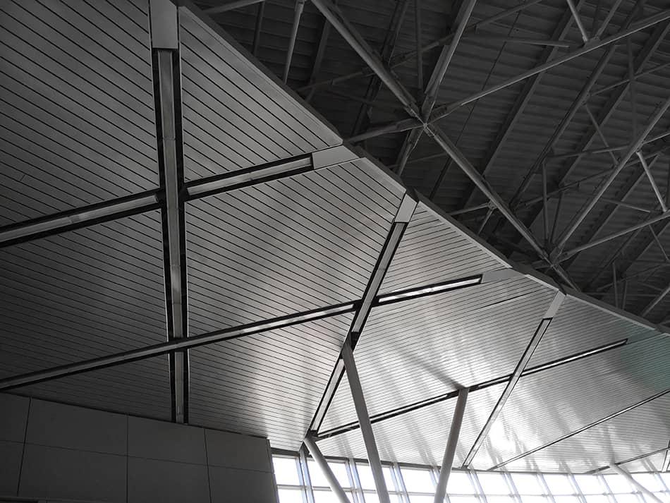 Corrugated Metal Ceilings