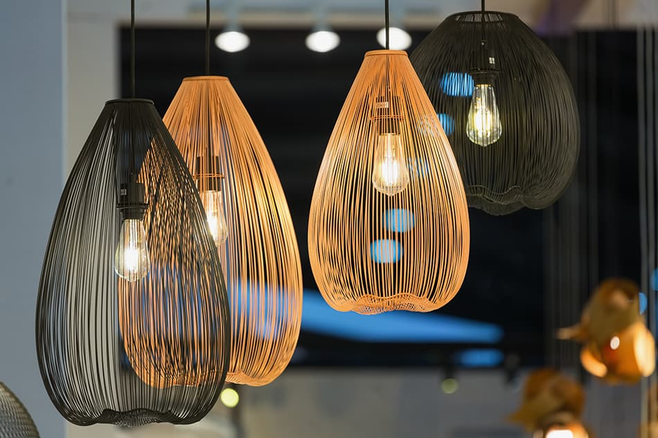 Decorative Bamboo Lamps