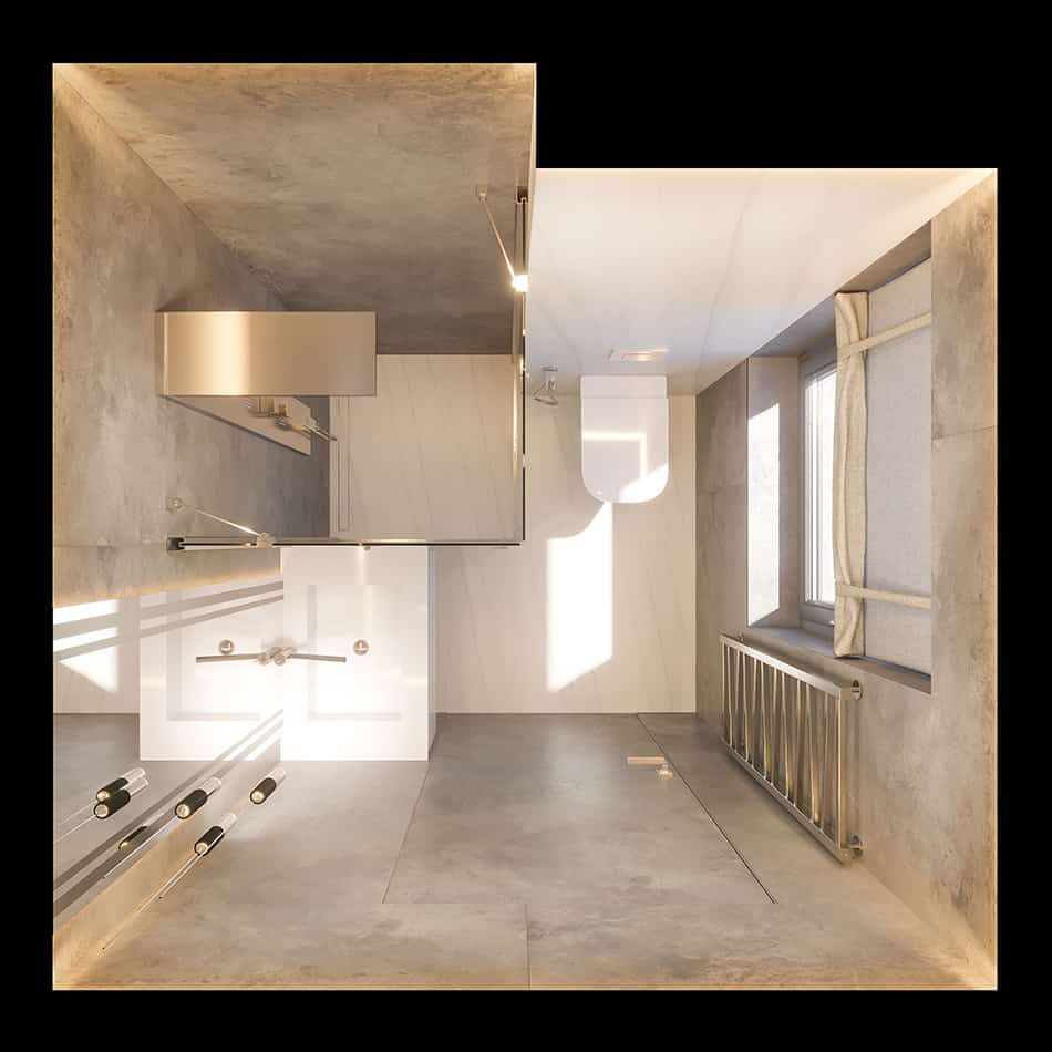 Gray Tiles With Taupe