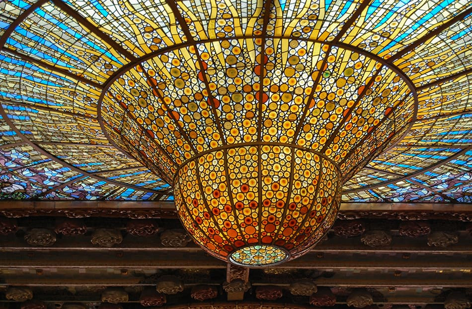Stained Glass Ceilings