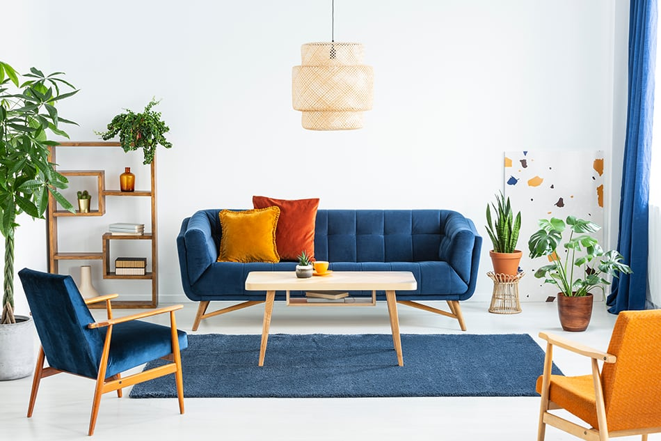 Use Bold Colors for the Living Room