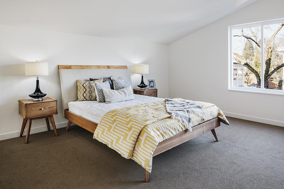 Vintage Style Mid-Century Modern Bedroom