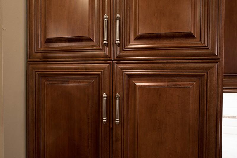 Walnut Wood Kitchen Cabinets