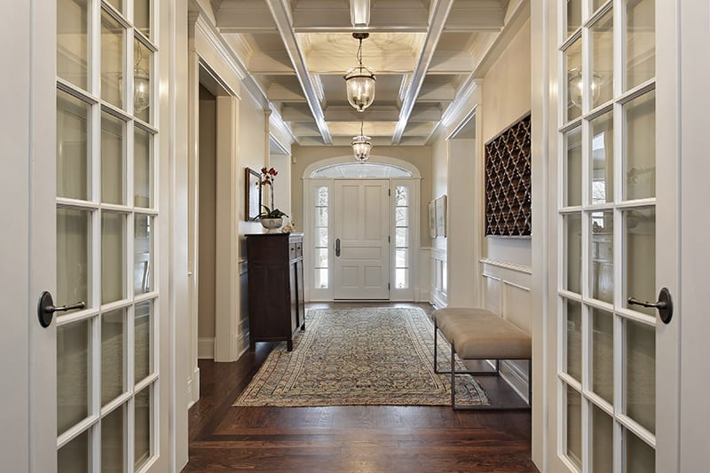Contemporary Style Entryway