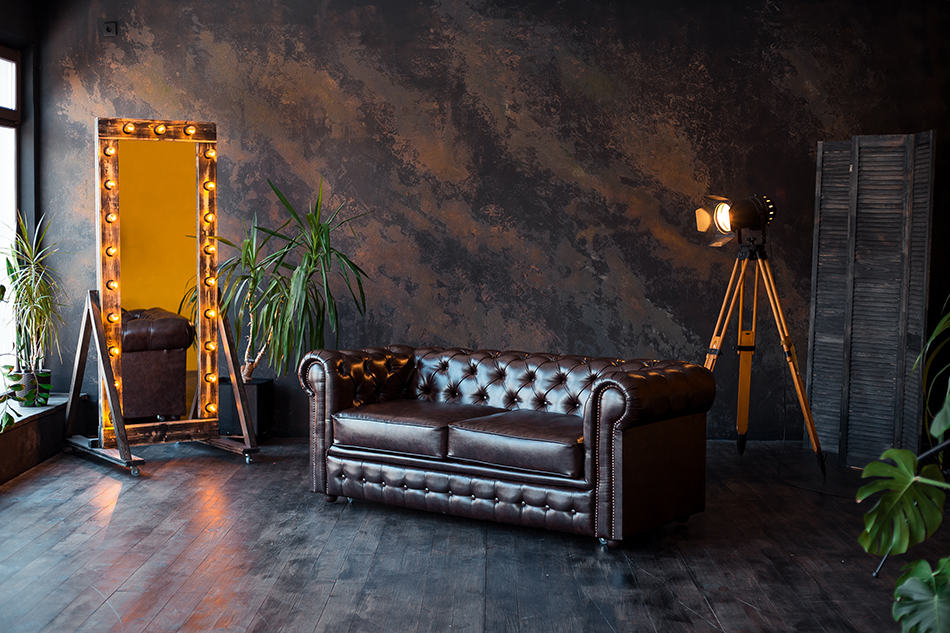 Dark Brown Leather Sofa Decorating Ideas