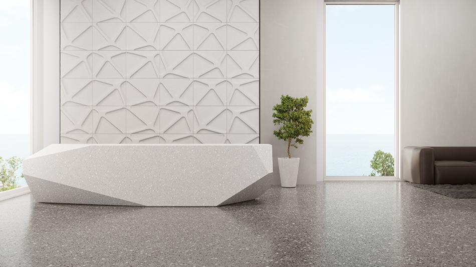Keep Terrazzo Floors Looking Shiny