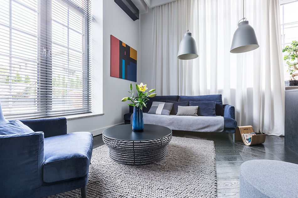 Blinds or Curtains for Living Room
