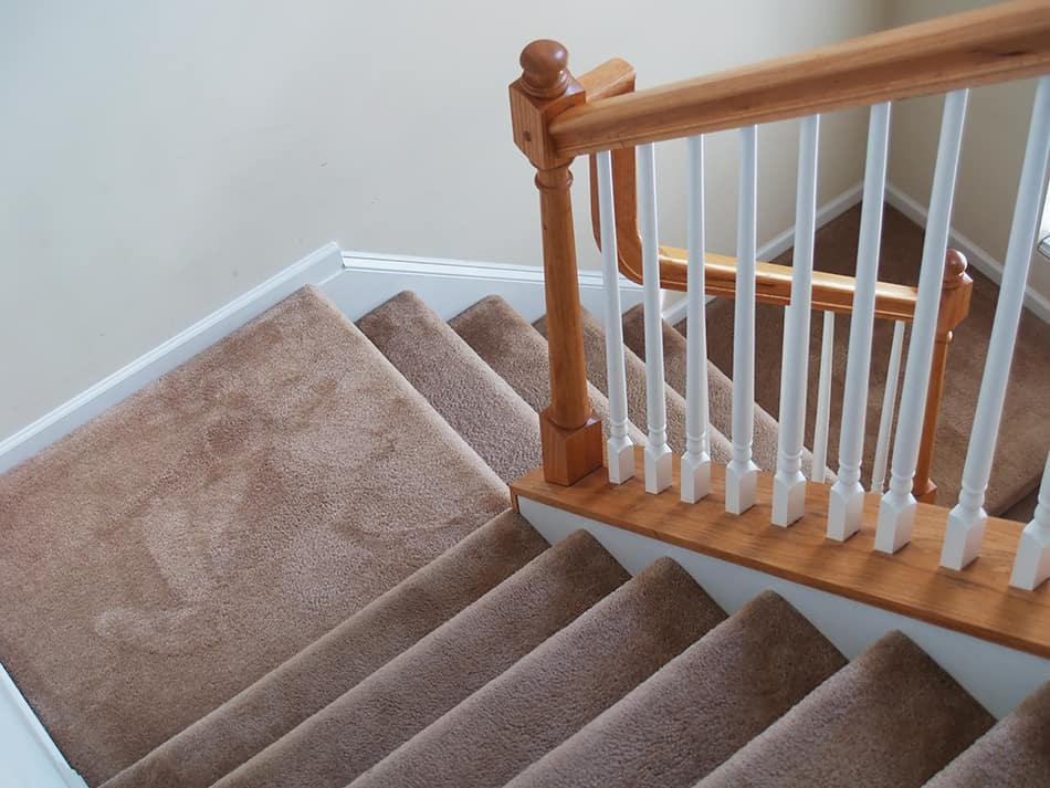 How to Clean Carpet on Stairs Without a Vacuum