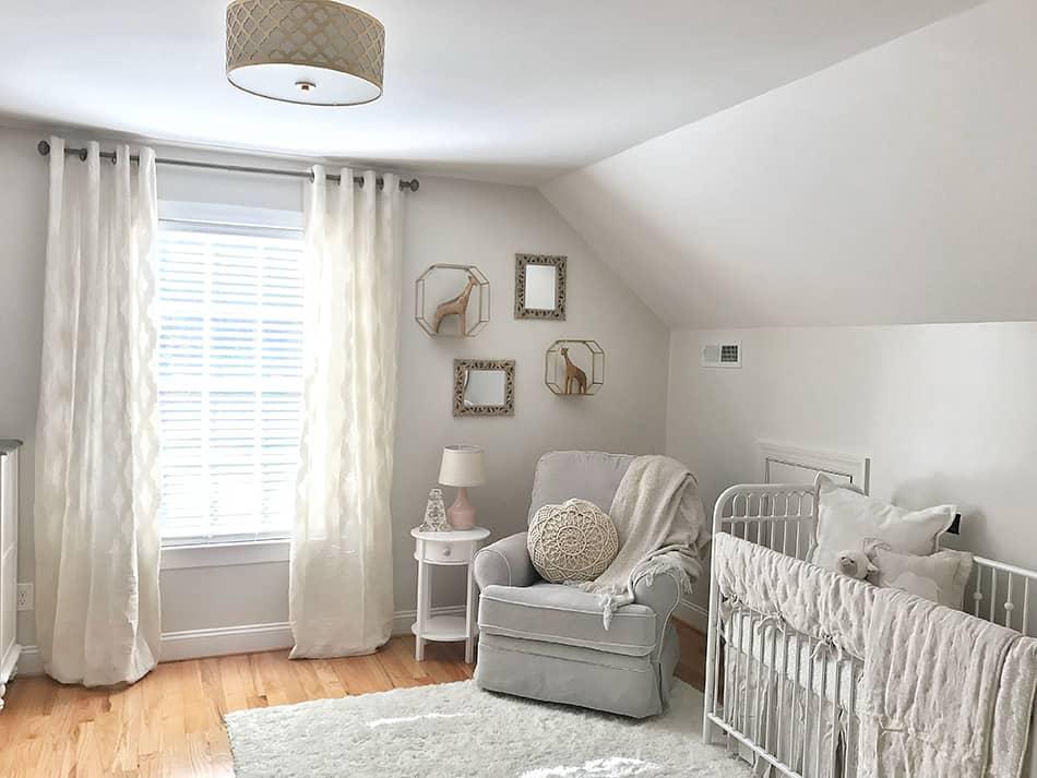 How to Combine Nursery & Guest Room