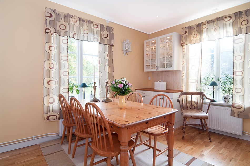Owl Kitchen Curtains