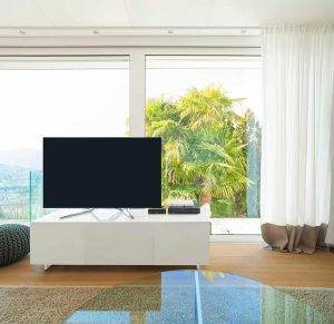 Put a TV in Front of a Window