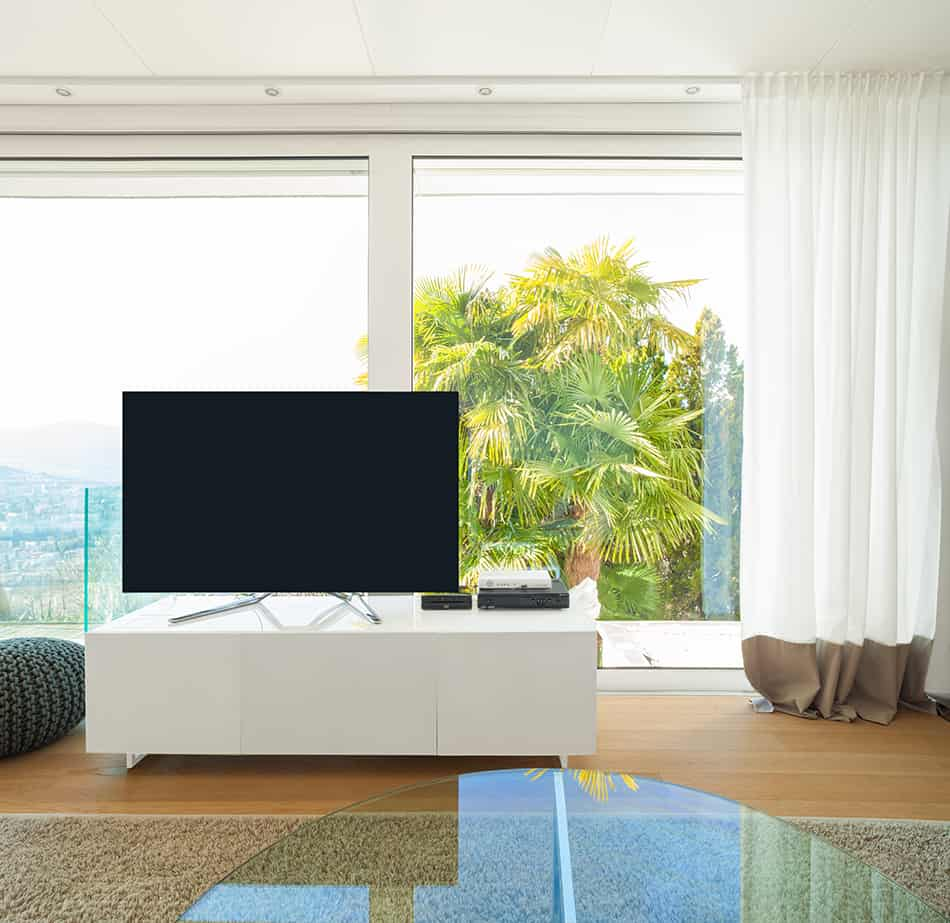 Can You Put a TV in Front of a Window?
