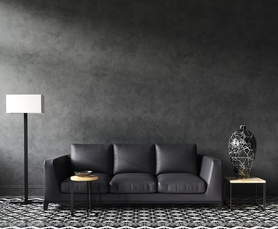What Wall Color Goes with Black Furniture