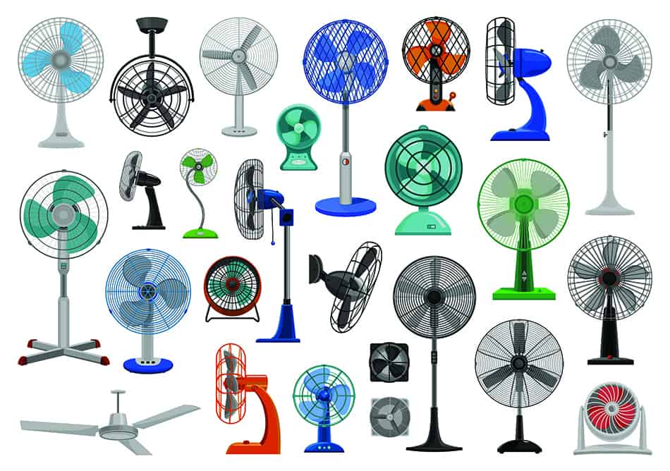 10 Different Types of Fans and Their Uses (with Pictures)